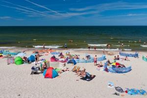 Plaża w Wiciach