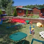 Ośrodek Domki na Fali - plac zabaw